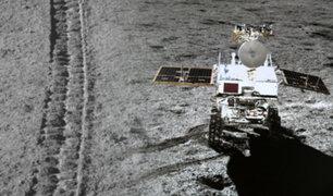 Sonda Chang'e-4: difunden nuevas imágenes de la cara oculta de la Luna