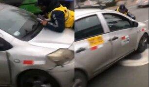La Molina: inspector fue atropellado por conductor sin SOAT y más de 20 multas
