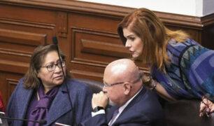 Bancada de PpK considera renuncia de Aráoz, Choquehuanca y Bruce de obstruccionista