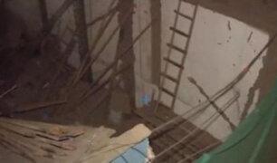 Barrios Altos: construcción de edificio dentro de quinta provoca derrumbe de viviendas