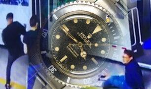 Por un Rolex: mafias de extranjeros traen nueva modalidad de robo al país