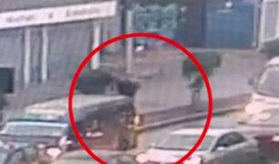 San Miguel: delincuentes asaltan a turistas al interior de vehículo