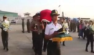 Restos de policía asesinado en Chincha serán enterrados en Pucallpa