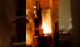 Pucallpa: niño muere durante incendio tras quedar atrapado en su vivienda