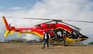 Helicóptero aterriza sin autorización en parque arqueológico de Choquequirao