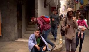 SMP: extranjeros desatan terror entre vecinos de Fiori
