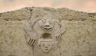 Arqueólogos descubren antiguo mural de sapo humanizado en Vichama