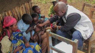 Sarampión mata a más de 2700 personas en la República Democrática del Congo