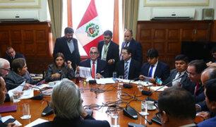 Junta de Portavoces del Congreso verá hoy funcionamiento de comisiones especiales