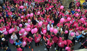 Contra el cáncer de mama: artistas se unen para generar conciencia