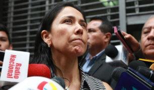 Nadine Heredia: PJ deja al voto apelación por caso Gasoducto Sur