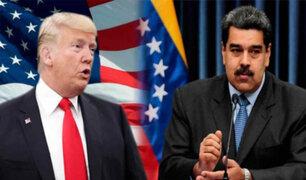 EEUU en contacto con funcionarios venezolanos para tratar salida de Maduro