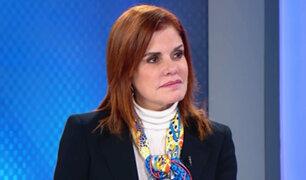 Mercedes Aráoz reafirma que no se justifica adelanto de elecciones