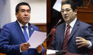 """Congresista Oliva acusa a Heresi de haberlo insultado """"con palabras irreproducibles'"""