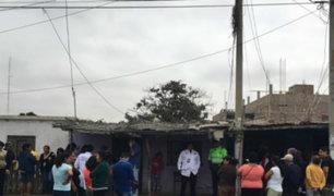 Áncash: anciano fallece durante incendio tras quedar atrapado en vivienda