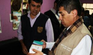 Cercado de Lima: incautan toneladas de material odontológico sin registro sanitario
