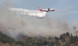 Evo Morales anuncia que contrató avión SuperTanker para mitigar incendios