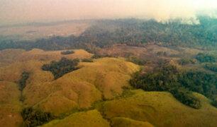 COER informó que humo de los incendios de la Amazonía brasileña llegó a nuestro país