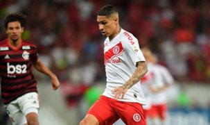 Copa Libertadores: Paolo Guerrero no pudo evitar derrota de Internacional ante Flamengo