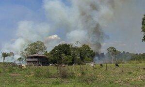 Indeci: Se han reportado 136 incendios forestales en menos de un mes