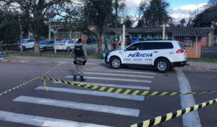 Brasil: ataque con hacha en escuela deja seis estudiantes heridos