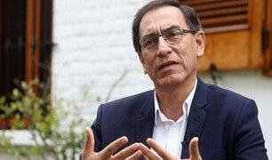 Vizcarra: No estoy de acuerdo con pedido de prisión preventiva para PPK