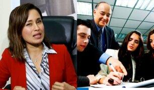 """Elizabeth Zea: el Estado realiza """"gastos obscenos"""" en consultorías"""