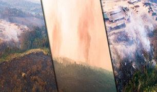 Impactantes imágenes | Madre de Dios: estas son las zonas afectadas por incendios forestales