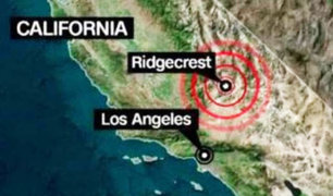 EEUU: se registró un sismo de magnitud 5,0 en California