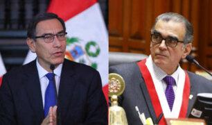 """Vizcarra sobre diálogo con Olaechea: """"Por supuesto que acepto aquí en Palacio"""""""