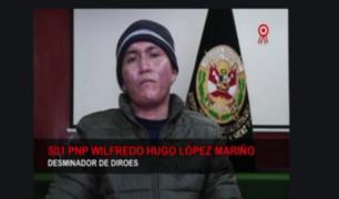 """Se recupera """"Héroe"""" PNP que sufrió quemaduras en caída de helicóptero"""