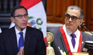 Congresistas piden diálogo entre Vizcarra y Olaechea pero sin intermediarios