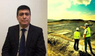 """Ibo Urbiola: """"La minería es el salario del Perú"""""""