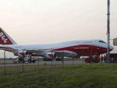 Bolivia: llegó avión cisterna que combatirá incendio en el Amazonas