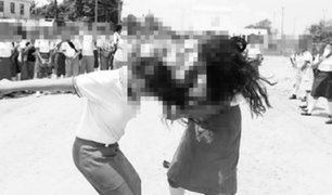 Tumbes: dos escolares protagonizan pelea callejera