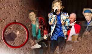 """NASA dedica a la banda """"Rolling Stones"""" una roca en Marte"""
