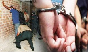 Comas: detienen a delincuentes en medio de balacera cuando fugaban en mototaxi