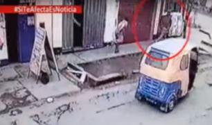 SJM: urbanización invadida por asaltantes a bordo de mototaxis