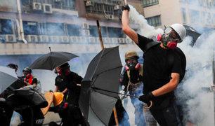 Protestas se vuelven cada día más violentas en Hong Kong