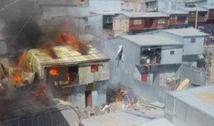 Puno: tres personas muertas deja incendio en pollería de La Rinconada