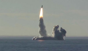 Rusia realiza ensayo con misiles balísticos en respuesta a EEUU