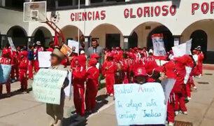 Cusco:  marchan para que sancionen a médicos que desfiguraron a niño en Lima