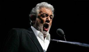 Pese a las acusaciones por acoso sexual, Plácido Domingo fue ovacionado en Austria