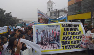 Manchay: vecinos piden regreso de párroco José Chuquillanqui