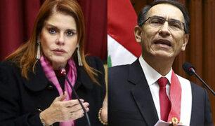 Aráoz  afirma que no habla con Vizcarra desde que renunció a PpK