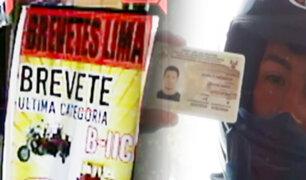EXCLUSIVO | Brevetes express: mafia obtiene licencias para conducir motos en tiempo récord