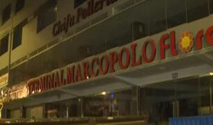 SMP: clausuran terminal ´Marco Polo´ en operativo contra transportistas informales