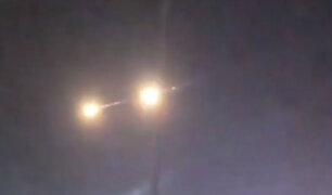 Israel: interceptan misiles desde la Franja de Gaza