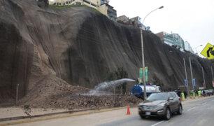 Alcalde de Magdalena solicita que declaren en emergencia acantilados de la Costa Verde
