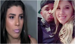 Yahaira Plasencia intenta evitar a la prensa tras confirmar relación con Jefferson Farfán